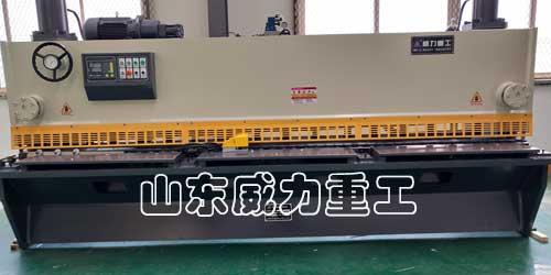 qc11y-8x4000液压闸式剪板机