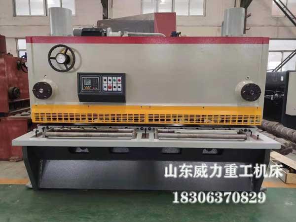 12x2500液压闸式剪板机